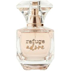 Refuge Adore Perfume ($11) ❤ liked on Polyvore featuring beauty products, fragrance, pink, parfum fragrance, perfume fragrance, fruity perfumes and refuge perfume
