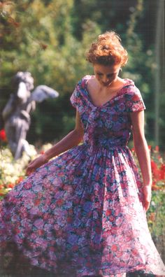 Those were the days: when Laura Ashley made dresses that transformed you - rather than t shirts you could buy anywhere!