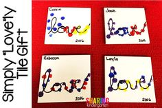 "Here is a Simply ""Love""ly Tile Gift each parent will love to receive this year. Every teacher is packing in the arts and crafts this week to get the holidays gifts prepped for their students' families. Teacher love finding simple, easy, lovely, and cheap crafts their students can help create from their hearts. Here is […]"