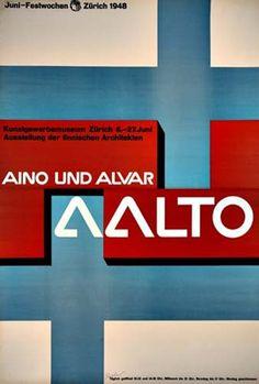 7c718ff17bc Aalto poster Retro Graphic Design, Freelance Graphic Design, Ad Design,  Graphic Design Illustration