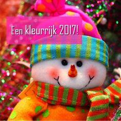 Nieuwjaarsgroet: Een kleurrijk 2017!