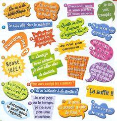 Et vous, quelle est votre phrase favorite? French Language Lessons, French Language Learning, French Lessons, French Teacher, Teaching French, Core French, French Education, French Grammar, French Expressions