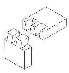 Sinkkaliitoksen suunnittelu - Puusepän liitokset - PuuProffa