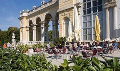 The Gloriette is one of the top sightseeing attractions in Vienna and a popular vantage point. Pre-purchase an online ticket now – and avoid queuing at the ticket office. Cafe Restaurant, Things To Know, Wonderful Places, Vienna, Austria, Touring, Palace, Dolores Park, Street View