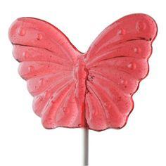 Watermelon Butterfly Lollipop