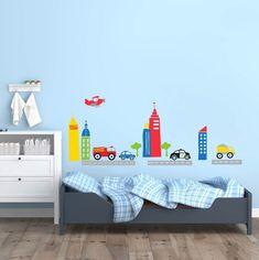 Decora la habitación de tus hijos con increíbles viniles como este. #Decoracion #Viniles #Habitación #Infantil #Niños