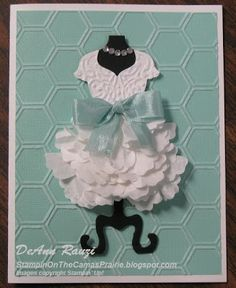 Stampin on the Prairie: Dress Up with a Coffee Filter Skirt @Brandy Rea-Sotelo this is such a cute idea. Have you seen this yet