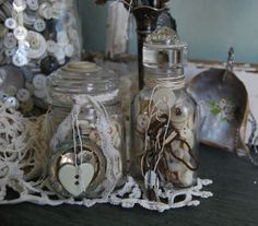 Sweet button jars
