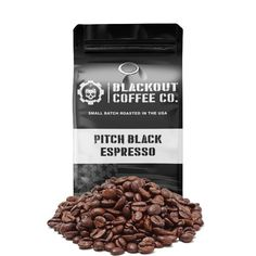 PITCH BLACK ESPRESSO COFFEE – Stimulife Coffee Blog Espresso Coffee, Coffee Cups, Coffee Origin, Fresh Roasted Coffee, Coffee Subscription, Dark Roast, Coffee Company, Blended Coffee, Coffee Roasting