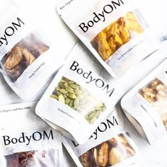 BodyOM (@bodyom) • dried fruit packaging curated by @copiousbags