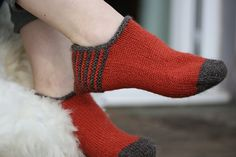 Ravelry: Buachaille Baffies (Striped) pattern by Kate Davies
