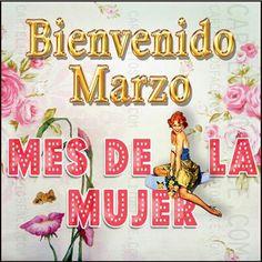 :) Bienvenido Marzo... un abrazo cargado de bendiciones para ti mujer.