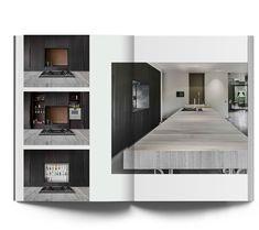 Minimalistische villa Bosch en duin - Culimaat - High End Kitchens Garage Apartment Plans, Garage Apartments, High End Kitchens, Black Kitchens, Stone Benchtop, Latest Kitchen Designs, Two Tone Kitchen, Timber Panelling, Kitchen Seating