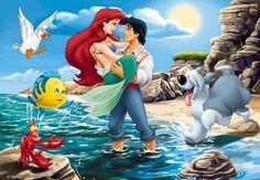 Ariel et le prince Eric