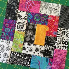 2 x rectangles into blocks 18 rectangles per block Scrappy Quilt Patterns, Jellyroll Quilts, Patchwork Quilting, Scrappy Quilts, Easy Quilts, Big Block Quilts, Strip Quilts, Patch Quilt, Quilt Blocks