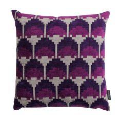 Kirkby Design Arcade Cushion - Midnight Purple