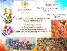 Celebrate this #holi at #Darbargadh Kadval Heritage. Join us for the celebrations. Visit : http://www.darbargadhkadval.com/