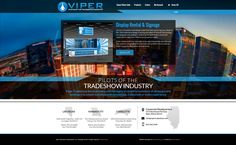 A Sleek and Sophisticated Web Design by VisionFriendly.com Illinois, Kansas City, Signage, Las Vegas, Desktop Screenshot, Web Design, Display, Website, Floor Space