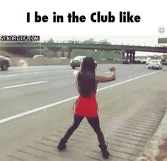 Dancing in the club / iFunny :)