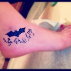 I think if I ever got a superhero tattoo this would be the one I got. Love this
