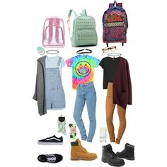 90s school outfits by stellaluna899 on Polyvore featuring Acne Studios, MANGO…