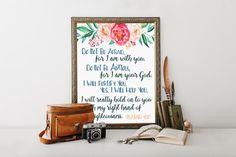Isaiah 41:10, scripture gifts, printable scriptures,  scripture printables, jw, encouragement, get well gift