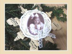 Christmas Tree Star, Christmas Tree Decorations, Christmas Gifts, Christmas Ornaments, Holiday Decor, Crystal Snowflakes, Tree Pendant, Shabby Chic, Vintage