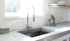 Don't worry about choosing tile for you kitchen remodel, try DIY concrete countertops instead.