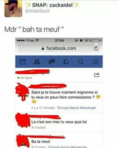 Le gars dit ça oklm😂 Funny Facts, Funny Memes, Morning Jokes, Lol, Just Pretend, Funny Pins, Funny Stuff, Funny Messages, Bad Mood