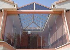 Fachada e Teto de vidro