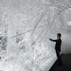 dezeen » blog archive » snowflake by tokujin yoshioka for kartell