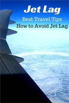 Best travel tips - How to avoid jet lag when traveling on long flights - SoloTripsAndTips.com