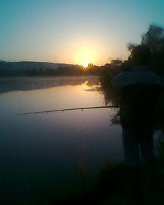 La pescuit....apus de soare...