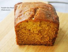 """LIBBY'S Pumpkin Bread ~ Here's the recipe for making that moist pumpkin bread just like the mix in the kit. Now you won't have to wait for the holidays to make this tasty loaf, you can make it year round! This yields 4 mini loafs - this recipe makes twice the batter as the box """"kit"""". When I made it I used twice the pumpkin and it was yummy!"""