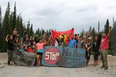 An Unist'ot'en Camp message to oil and gas hopefuls