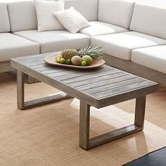 Build Your Own Portside Sectional - Weathered Gray