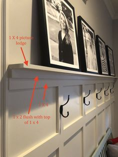 board and batten wall If youre looking for a fairly simple home improvement DIY that really transforms a space, board and batten is the thing for you. This step-by-step board and b Home Renovation, Home Remodeling, Young House Love, The Plan, Board And Batten, Board And Batton Siding, Suites, Diy Home Improvement, Simple House