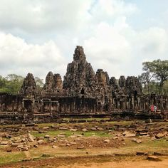 The breathtaking temples at Angkor, Cambodia.    Photo courtesy of ryanmagundayao on Instagram.
