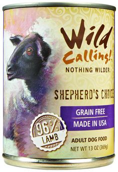 Wild Calling Shepherd's Choice Formula Canned Dog Food