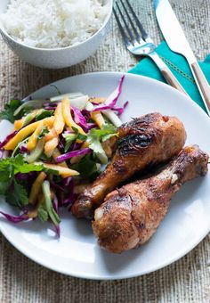 Jerk Chicken Drumsticks (love some of the other ideas on the list too!) #healthy