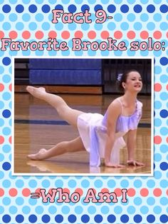 Dance Moms fact about me!!!