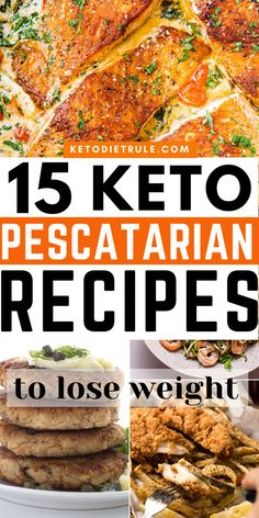 If you're looking for Keto Fish Recipes for your keto pescatarian meal plan check out these delicious low-carb fish recipes. They're all super easy to prep and make. Great for weight loss.  #ketopescatarianrecipes #ketofishrecipes #ketoveganrecipes #ketodiet #lowcarbrecipes #healthyrecipes #StomachFatBurningFoods Pescatarian Meal Plan, Ketogenic Diet Meal Plan, Pescatarian Recipes, Healthy Diet Plans, Keto Meal Plan, Diet Meal Plans, Healthy Recipes, Keto Recipes, Healthy Foods