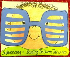 Inferring: Reading between the lines with 80s glasses First Grade FairyTales