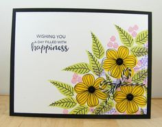 Hampton Art Blog: Day Filled with Happiness card by Beverly Sizemore