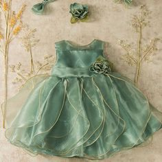 Hopscotch - Daily finds for babies, kids and moms. Wedding Dresses For Kids, Baby Girl Party Dresses, Dresses Kids Girl, Kids Frocks Design, Baby Frocks Designs, Kids Dress Wear, Kids Gown, Baby Girl Dress Patterns, Baby Dress Design