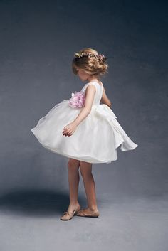 Love by Nellystella Natalie Dress in White - The Girls @ Los Altos