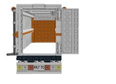 Lego Truck, Lego Military, Product Ideas, Lego Ideas, Lego Creations, Lego City, The Office, Trailers, Warehouse