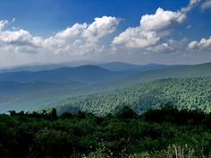 Skyline Drive, Virginia - used to drive out here with Grandma & Pa, Aunt Susu & Uncle Larry to watch the metor showers at night