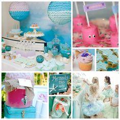 Little Mermaid Themed Birthday Party