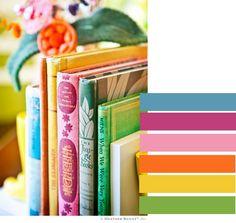candytree: books (via books © Heather Bailey) I Love Books, My Books, Heather Bailey, Plum Pretty Sugar, Deco Boheme, Nerd, Vintage Children's Books, Space Crafts, Happy Colors